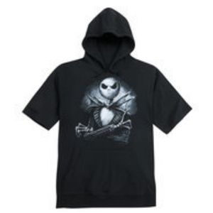 NWT! Nightmare Before Christmas Hooded Tshirt